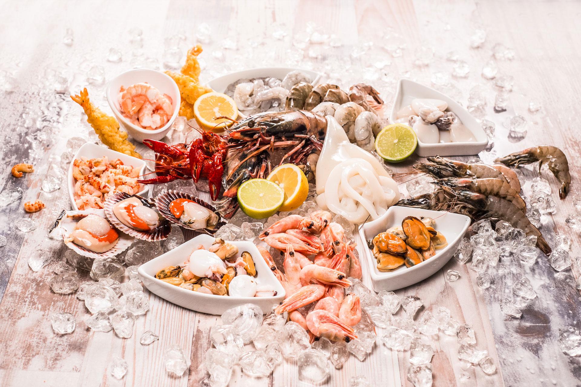 Uebersicht Seafood VALIO