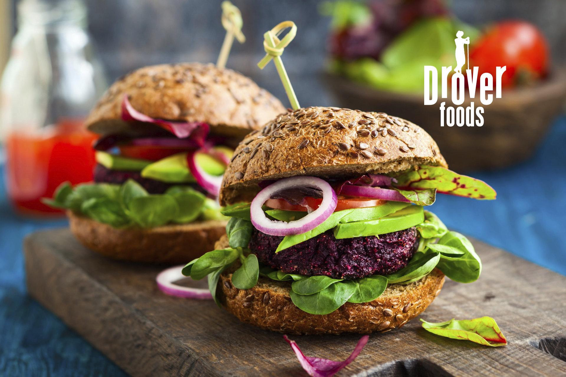 DROVER foods Sortiment Vegan VALIO