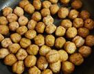 Vegan Falafel balls, deep fried