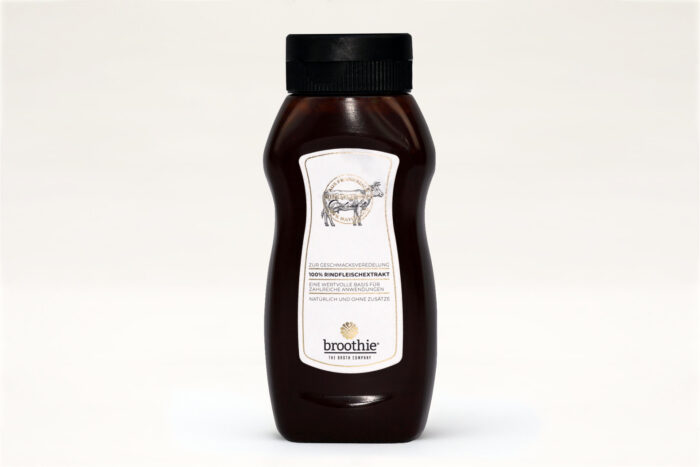 Geflügelextrakt 195ml Squeeze-Flasche, Serviervorschlag