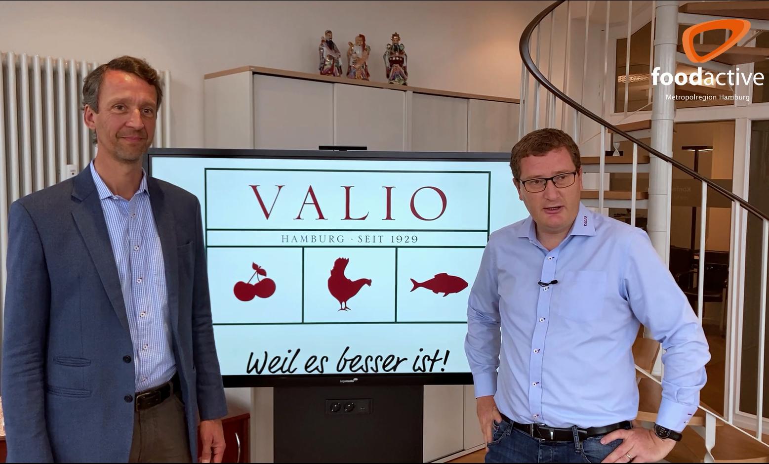 Banner foodactive VALIO.de
